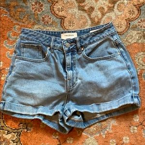 Mom Short 26, PACSUN Jean short denim
